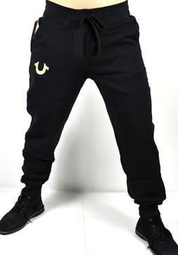 True Religion $139 Men's Slim Cuff Horseshoe Logo Sweatpants