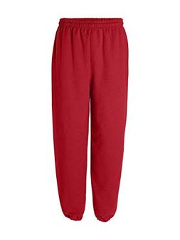 Gildan 18200 Heavy Blend Sweatpants, Red, Large
