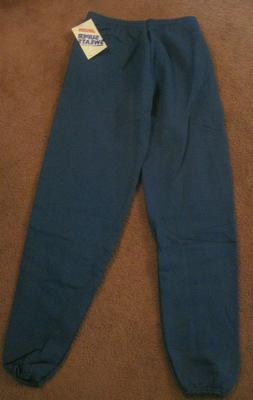 1980's Jerzees Super Sweats Sweatpants Men's Medium New With