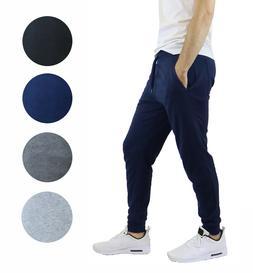 3 PACK Mens Jogger Pants Sweatpants Active Gym Lounge Sleep