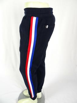 $40 Mens Southpole Jogger Fleece Sweatpant Navy Blue with Wh