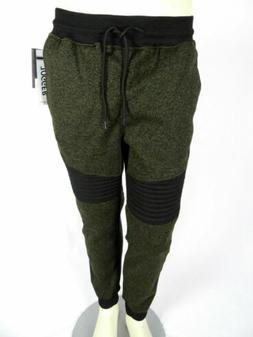 $46 Mens Southpole Jogger Pants Sweatpants Gym Track Olive G