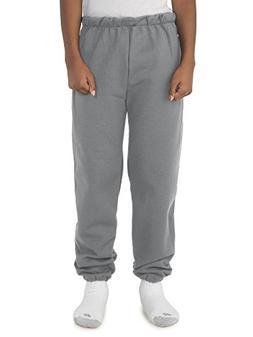 Jerzees boys Super Sweats Sweatpants with Pockets-OXFORD-S