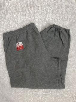 4xL SweatPants Men's gray Fruit of the Loom Brand New 2 Pock