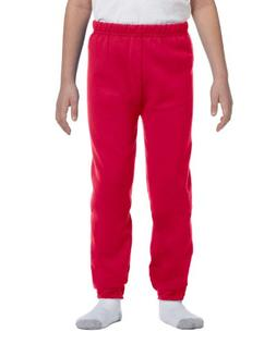 Jerzees 50/50 Youth Sweatpants, L, True Red