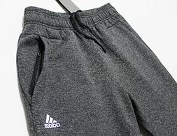$70 ADIDAS Taper-Fit Stadium Heather Men's Jersey Sweatpants