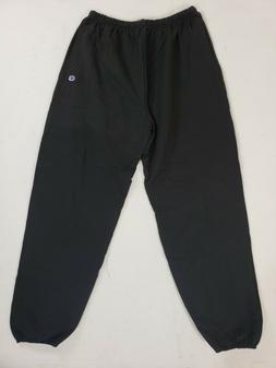 Champion Men's Cotton Max Fleece Pant, Black