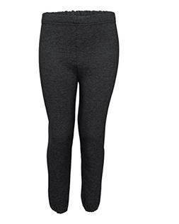 Jerzees boys NuBlend Sweatpants-BLACK HEATHER-S