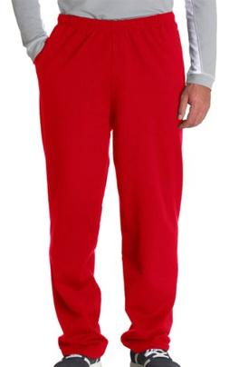 Jerzees Adult NuBlend Open-Bottom Sweatpants with Pockets Re