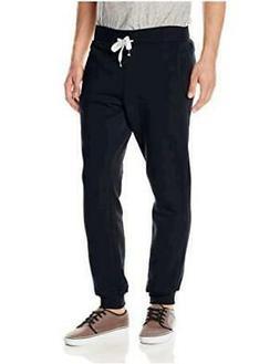Southpole Men's Active Basic Jogger Fleece Pants, New Navy