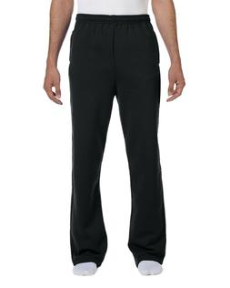 Jerzees Adult 8 oz. NuBlend Open-Bottom Fleece Sweatpants 97