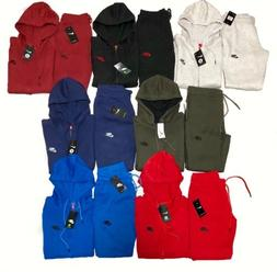 Nike Air Sweatsuit Tech Fleece Top & Bottom Set Full Zip Hoo