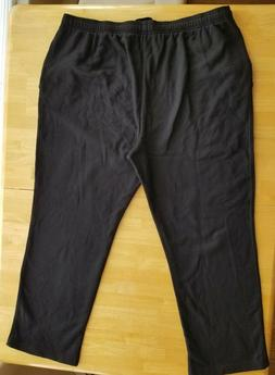 Amazon Essentials Men's Fleece Sweatpants, Black, 2XL