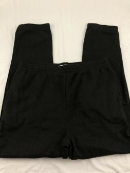Amazon Essentials Mens Black Sweat Pants Size-L