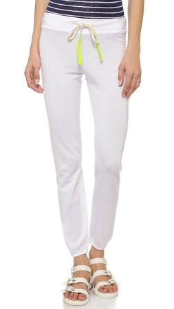 Sundry Anthropologie White Classic Sweatpant 0/XS $90 NWT  S