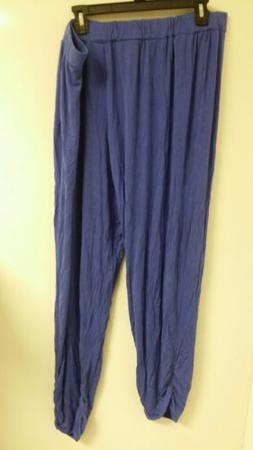 Antthony Womens Plus Size Comfy Sweatpants Blue Size 2X - A3