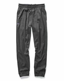 Champion Authentic Men's Athletic Pants Closed Bottom Jersey