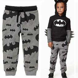 Toddler Kids Boys Girls Sweatpants Slacks Trousers Harem Pan