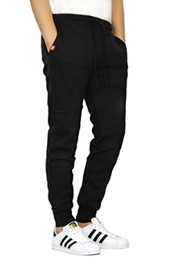 MEN'S BASIC FLEECE JOGGER PANTS