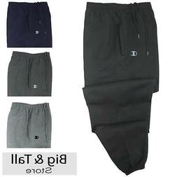 Big Men's Champion Sweat Pants 3XL - 10XL Elastic Ankle Open