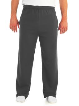 JERZEES Big Men's Soft Medium-Weight Fleece Open Bottom Sw