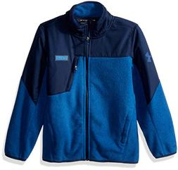 Under Armour Boys' Big Storm Battlefleece Heather Jacket, Bl