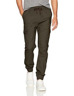 Southpole Men's Big and Tall Jogger Pants Washed Ripstop Fab