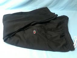 Champion Black Elastic Waist & Hem Fleece Men's Sweatpants
