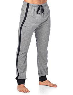 Balanced Tech Men's Color Block Stripe Jersey Knit Jogger Lo