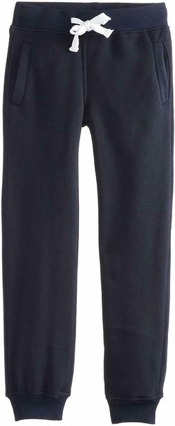 Southpole Boys' Big Active Basic Jogger Fleece Pants, Navy,