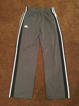 Adidas Boys Children's Grey Sweatpants Activewear Casual P