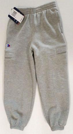 Champion Boys Cotton Blend Sweatpants with Pockets/Elastic W