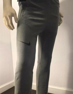 Nike Boys Dry Fit Tapered Training Pant In Steel Grey In X-L