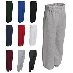 JERZEES Boys Kids Girls NuBlend Youth Sweatpants 973BR