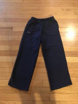 Champion Boys Size Medium 8/10 Navy Blue Sweatpants With Poc