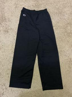 Champion Boys Youth Black Sweatpants Size YM Medium  New
