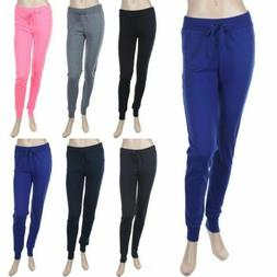 Casual Cotton Sweat Pants with Draw String Waist Athletic Ea