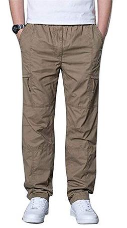 FORTUN Men's Casual Pants Fashion Trousers Overalls Outdoor