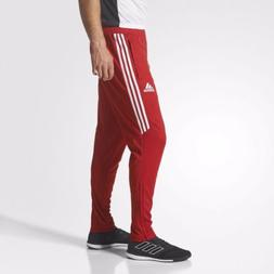 Mens Adidas Tiro17 Slim Soccer Training Pant - Red White