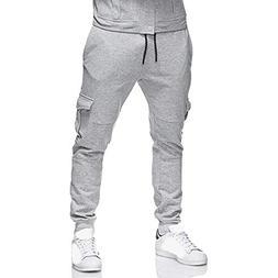 SMALLE ◕‿◕ Trousers for Men, Sweatpants Slacks Casual