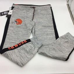 Cleveland Browns NFL Team Apparel Womens Sweatpants Heathere