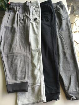 Under Armour Cold Gear Athletic Sweat Pants Men New Tags Bla