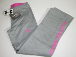 Under Armour ColdGear STORM Girls Graphic Fleece Lined Athle