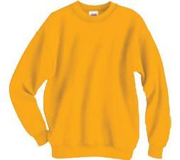 Hanes Men's ComfortBlend Crew Sweatshirt ,Orange,L US