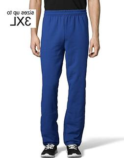 Hanes ComfortBlend EcoSmart Men's Sweatpants Deep Royal L