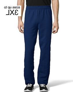Hanes ComfortBlend EcoSmart Men's Sweatpants Navy S