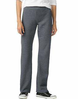 Hanes ComfortSoft EcoSmart Women's Open Bottom Leg Fleece Sw