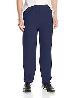 Hanes ComfortSoft3; EcoSmart Men's Fleece Sweatpants Navy XL