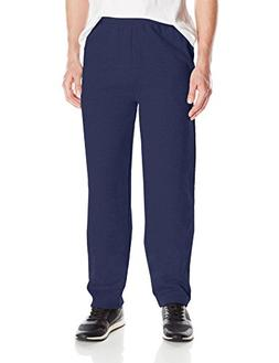Hanes ComfortSoft3; EcoSmart Men's Fleece Sweatpants Navy XL