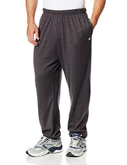 Russell Athletic Men's Big and Tall Jersey Pant Inside Draws